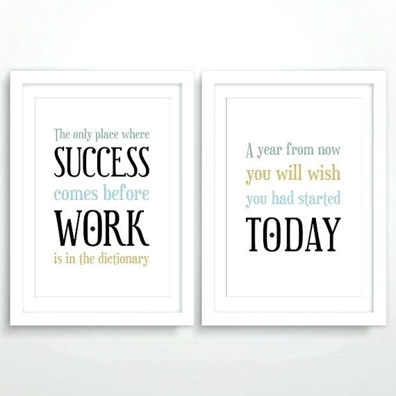 Inspirational Office Quotes Plus Office Wall Art Inspirational Inside Inspirational Quotes Wall Art (View 19 of 25)