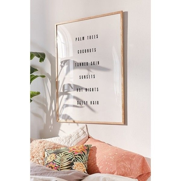 Inspirational Wall Art, British Home Decor, Urban Outfitters Wall For Urban Outfitters Wall Art (View 8 of 25)