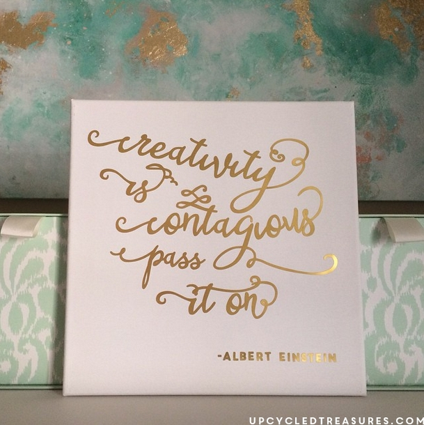 Inspiring Diy Gold Foil Wall Art | Mountainmodernlife Inside Gold Foil Wall Art (Image 18 of 25)