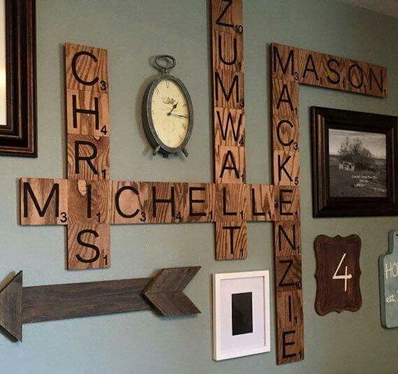 Interior Wall Art Stunning Wall Art Letters – Wall Decoration And Within Letter Wall Art (Image 7 of 25)