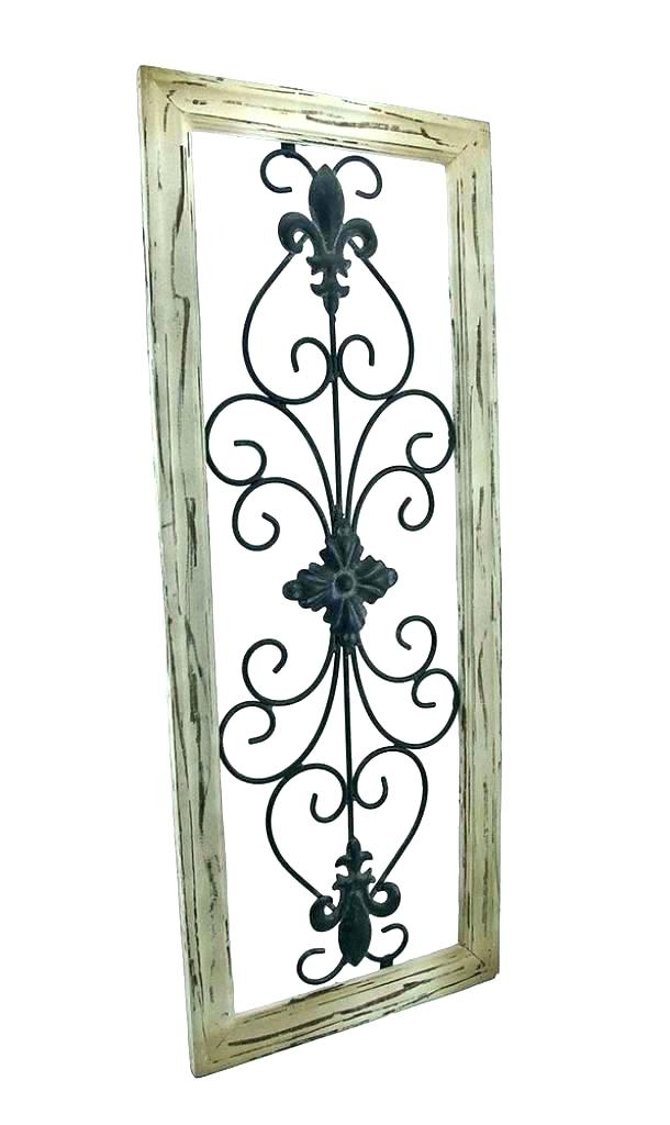 Iron Scroll Wall Decor Appealing Wrought Iron Scroll Wall Decor Love Regarding Metal Scroll Wall Art (View 18 of 20)