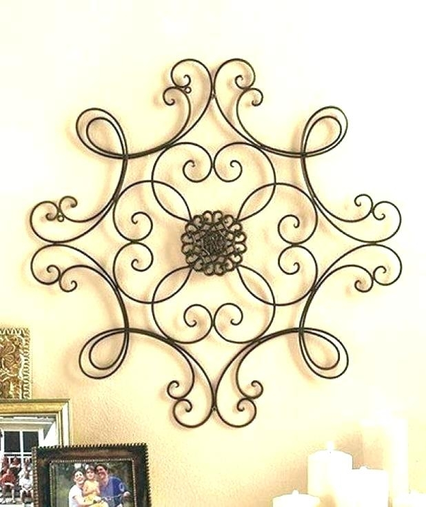 Iron Scroll Wall Decor Cool Scroll Wall Decor Images Wall Art Design Intended For Metal Scroll Wall Art (Image 8 of 20)