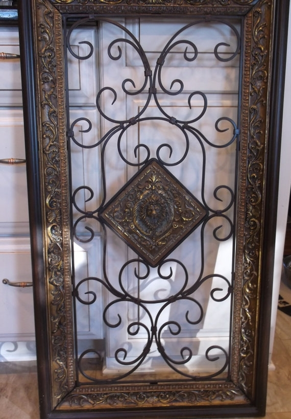Iron Wall Decor - Home And Interior pertaining to Iron Wall Art