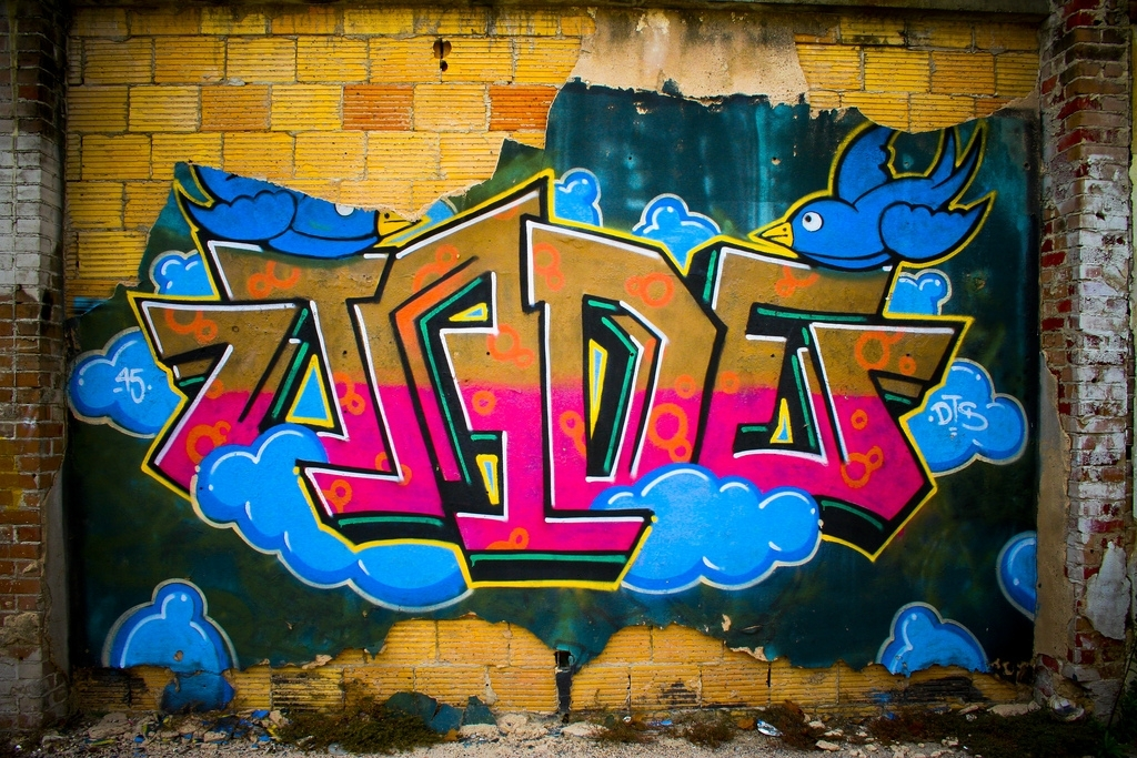 Jade – Houston Wall Art Graffiti | Near The Corner Of Harris… | Flickr In Houston Wall Art (Image 19 of 25)