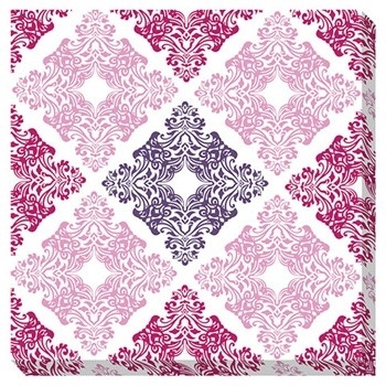 Jadine – White/pink – Wall Art | A8000161 | Wall Art | Ferrin's Throughout Pink Wall Art (Image 13 of 25)