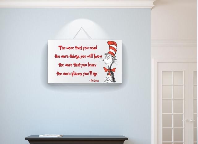 20 Collection of Dr Seuss Wall Art | Wall Art Ideas