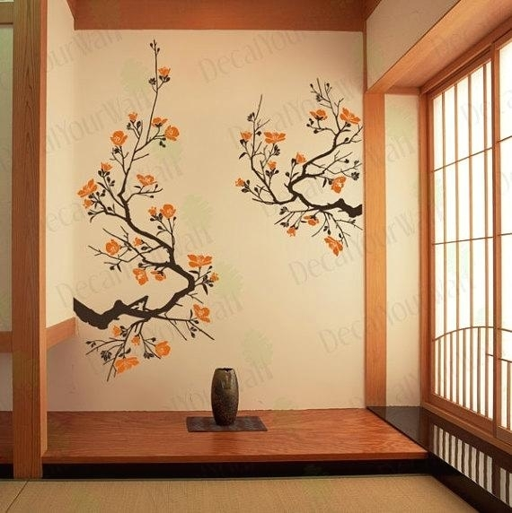 Japanese Wall Art Japanese Wall Art Australia – Outdoor Furniture Intended For Japanese Wall Art (Image 9 of 20)