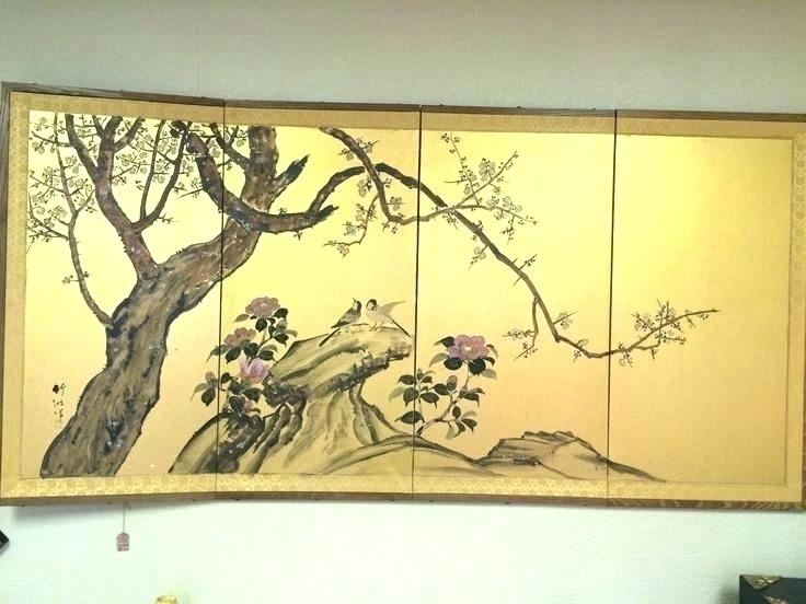 Japanese Wall Art Wall Art Excel Superb And Decoration Ideas Decor Regarding Japanese Wall Art (Image 10 of 20)