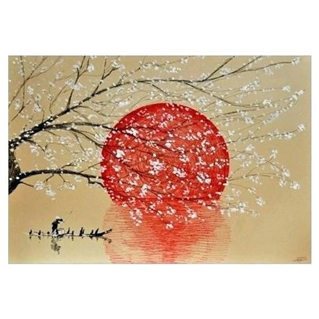 Japanese Wall Art Wall Art Wall Decor Japan Outdoor Wall Decor In Japanese Wall Art (Image 11 of 20)