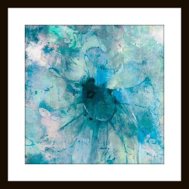"""Jill Martin """"teal"""" Modern Wall Art – Modern – Artwork  Mantle Regarding Teal Wall Art (Image 5 of 10)"""