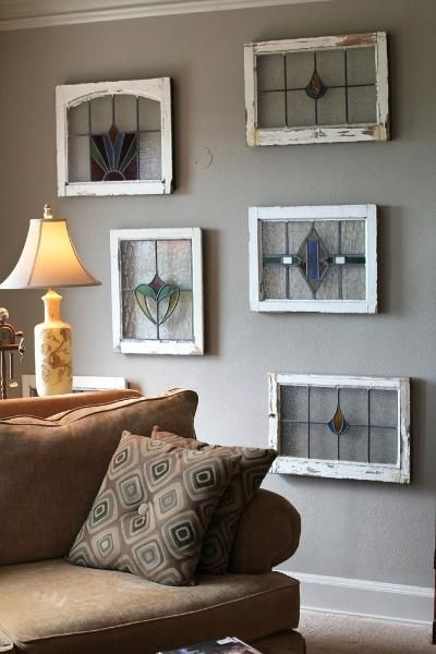 John Mcgivern's Home. Stained Glass Wall Art. | Art, Mosaics And throughout Stained Glass Wall Art