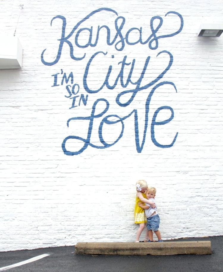 Kansas City Wall Art Piece Grey City Canvas Wall Art Home Decor Throughout Kansas City Wall Art (Image 20 of 25)