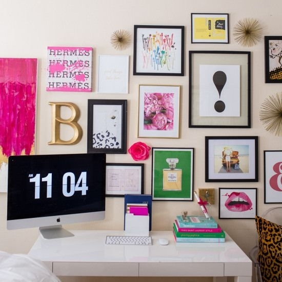 Kate Spade Gallery Wall | Crafts Room Project | Pinterest | Gallery inside Kate Spade Wall Art