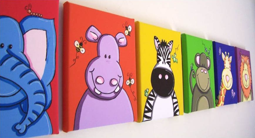 Kids Wall Art : Interior – Yayasanharum In Kids Wall Art (Image 4 of 10)