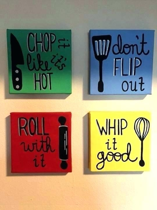 Kitchen Artwork Decor Kitchen Canvas Wall Art For Ideas On Prints Within Kitchen Canvas Wall Art Decors (Image 13 of 25)