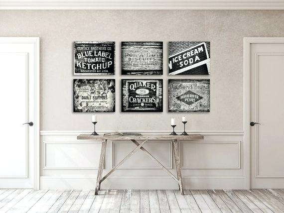 Kitchen Canvas Art Decor Prints Or Rustic Wall Uk – Ismts Pertaining To Kitchen Canvas Wall Art Decors (Image 15 of 25)