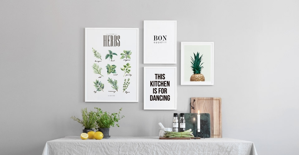 Kitchen Wall Art And Posters For The Kitchen At Desenio.co (Image 13 of 20)
