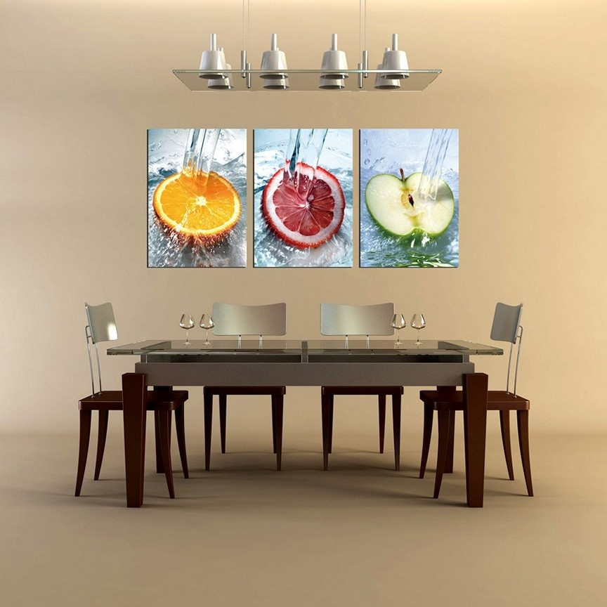Kitchen Wall Art Ideas – Wowruler Within Wall Art For Kitchen (View 9 of 20)