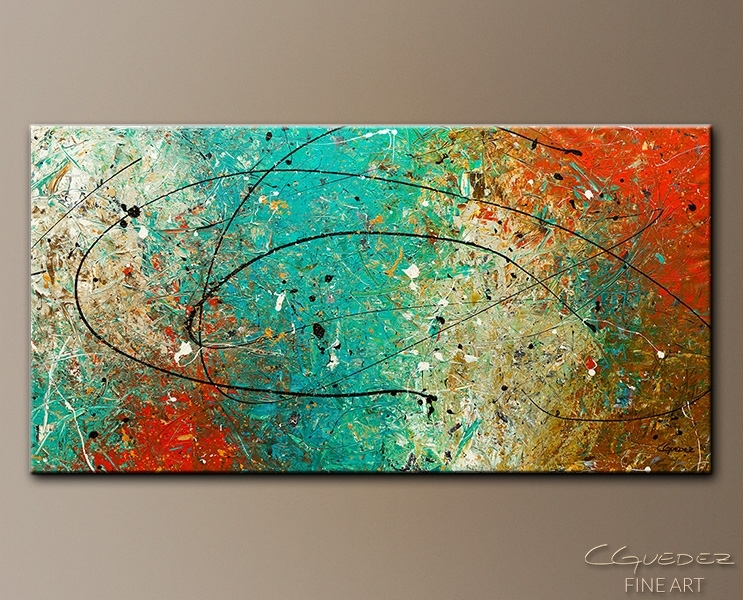 Large Abstract Wall Art – Sight To Behold – Huge Large Contemporary For Wall Art Paintings (View 12 of 25)