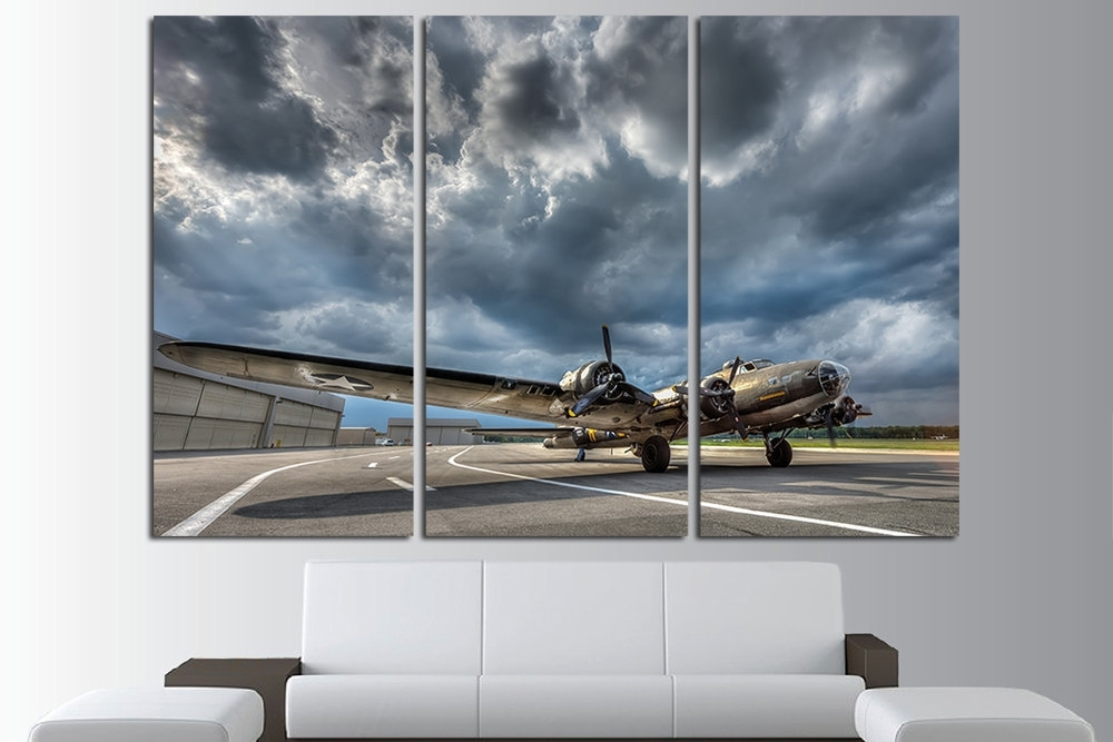 Large Aviation Wall Art : Andrews Living Arts – Cool Themed Aviation Throughout Aviation Wall Art (View 4 of 25)