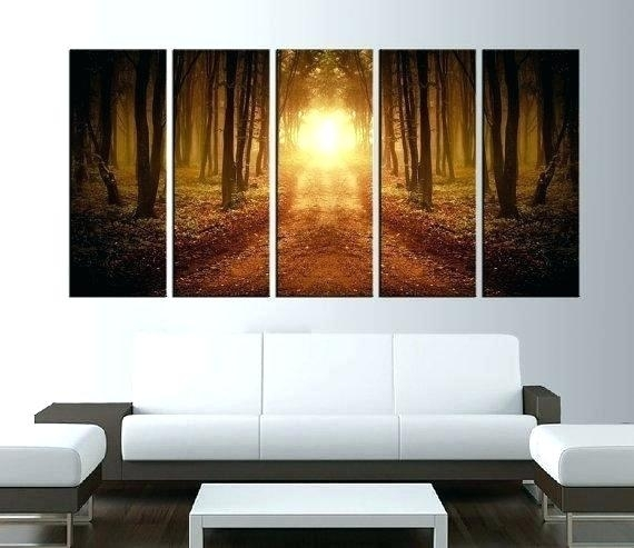 Large Canvas Artwork – Coolbuddy For Cheap Large Wall Art (Image 15 of 25)