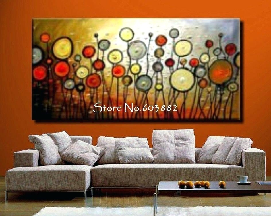 Large Canvas Painting Abstract Artwork Large Abstract Canvas Art Throughout Large Canvas Painting Wall Art (View 25 of 25)