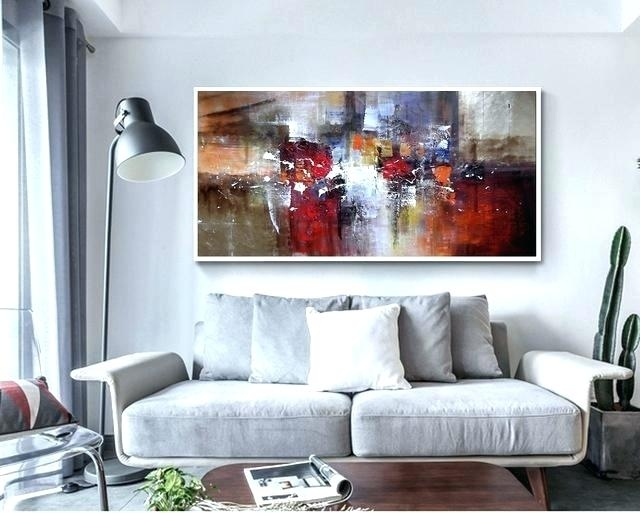 Large Canvas Painting Large Canvas Wall Art Abstract Modern Large With Regard To Modern Large Canvas Wall Art (Image 18 of 25)