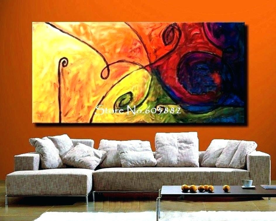 Large Canvas Painting Large Wall Art Canvas Large Wall Paintings For Intended For Cheap Large Wall Art (View 4 of 25)