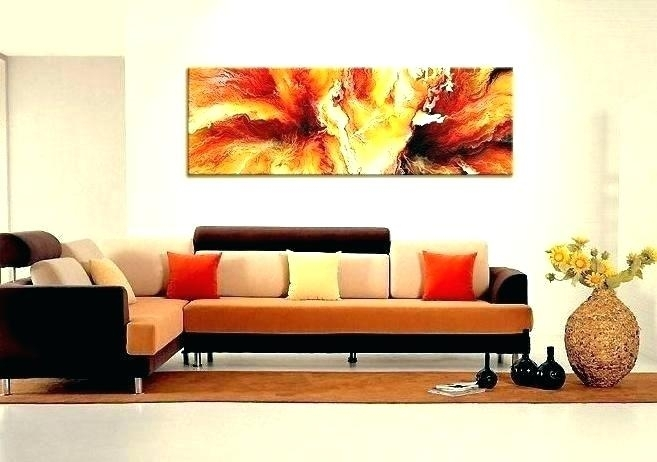 Large Horizontal Wall Art Long Narrow Wall Art Large Horizontal With Regard To Horizontal Wall Art (Image 12 of 25)