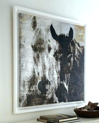 Large Horse Wall Art Horse Wall Canvas Horses Canvas Horses Wall Inside Horses Wall Art (Image 12 of 20)