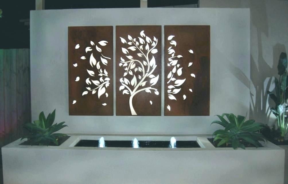 Large Metal Letters Wall Art Letters Decorative Iron Wall Art Inside Wood And Metal Wall Art (Image 6 of 25)