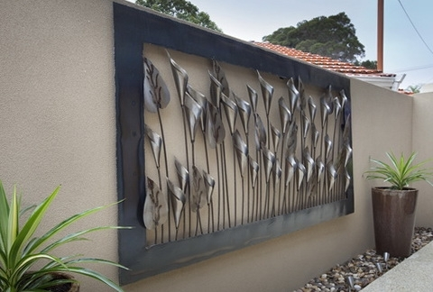 Featured Photo of Large Outdoor Metal Wall Art
