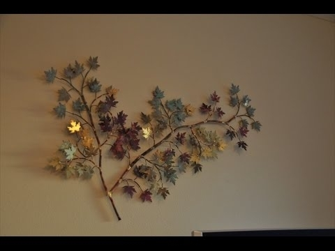 Large Metal Wall Art – Extra Large Outdoor Metal Wall Art – Youtube Inside Large Outdoor Metal Wall Art (View 10 of 25)