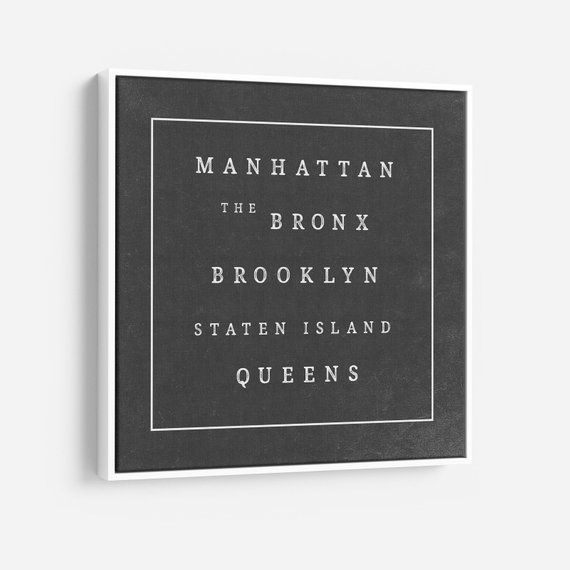 Large New York City Wall Art, Nyc Wall Art Canvas, Nyc Canvas Black With Nyc Wall Art (View 12 of 25)