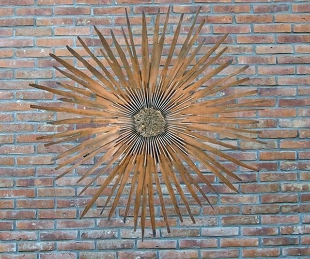 Large Outdoor Metal Wall Art Wall Art Ideas Design Sun Higher Regarding Large Outdoor Metal Wall Art (View 9 of 25)