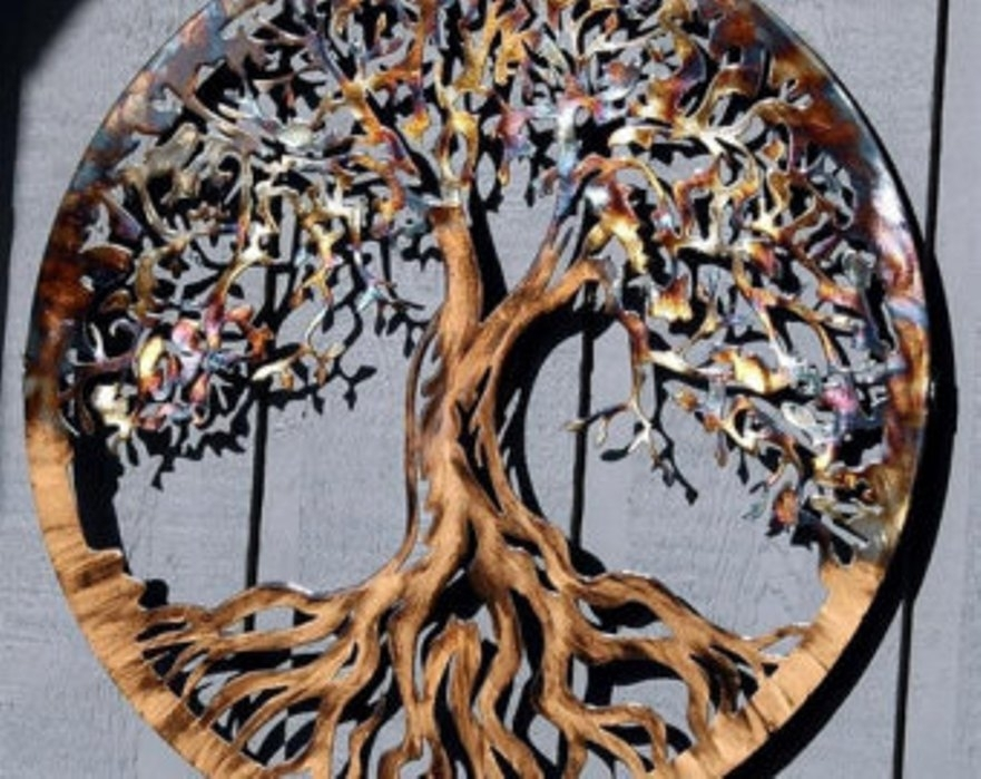 Large Outdoor Metal Wall Decor | Sevenstonesinc In Large Outdoor Wall Art (Image 9 of 25)