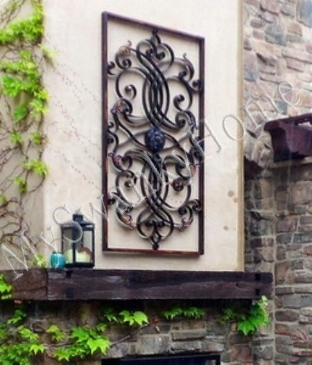 Large Outdoor Metal Wall Decor | Sevenstonesinc Inside Large Outdoor Metal Wall Art (View 3 of 25)