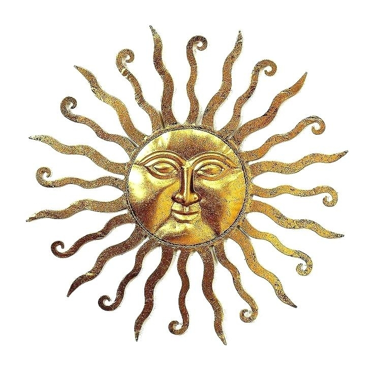 Large Outdoor Sun Wall Art Wall Arts Outdoor Metal Sun Wall Art Intended For Outdoor Sun Wall Art (View 7 of 10)