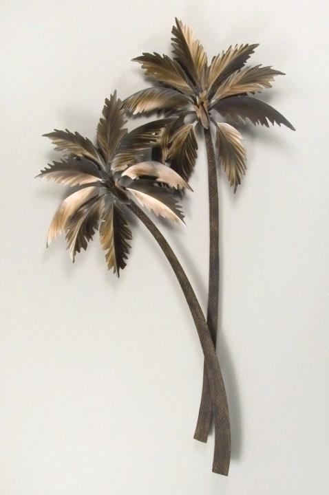 Large Tree Wall Art Ingenious Inspiration Metal Palm Tree Wall Art Intended For Palm Tree Wall Art (Image 5 of 25)