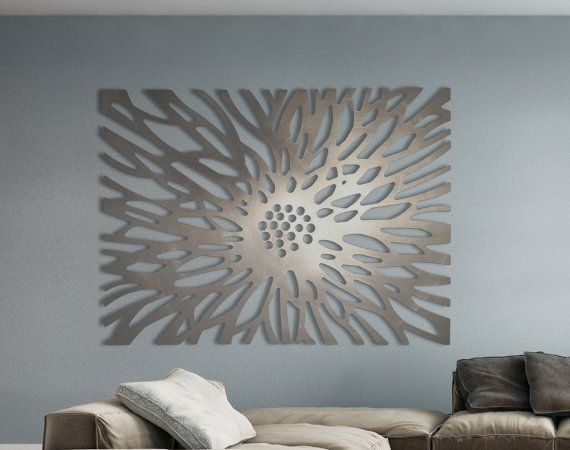 Laser Cut Metal Decorative Wall Art Panel Sculpture For Home, Office Throughout Decorative Wall Art (Image 11 of 20)
