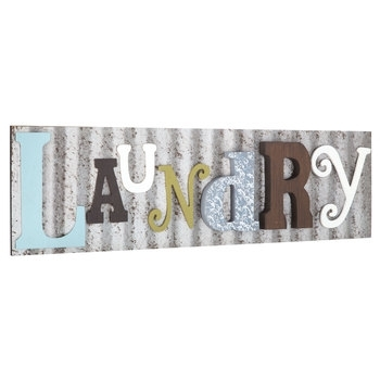Laundry Galvanized Metal Wall Decor | Hobby Lobby | 1294628 Pertaining To Hobby Lobby Metal Wall Art (View 10 of 25)