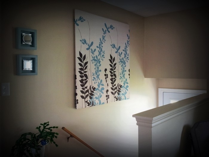 Learn How To Make Your Own Wall Art With A Shower Curtain | Your For Shower Curtain Wall Art (Image 17 of 25)