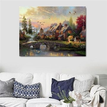 Led Frameless Lights Wall Painting Scenery Landscape Luminous Living Intended For Modern Wall Art Decors (Image 16 of 25)
