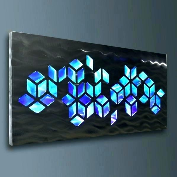 Led Wall Art Home Decor Lighted Wall Art Lighted Pictures Wall Decor Intended For Lighted Wall Art (View 20 of 20)