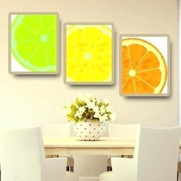 Lemon Wall Art Spectacular Design Lemon Wall Art Simple Decor Shop Throughout Lemon Wall Art (View 7 of 20)