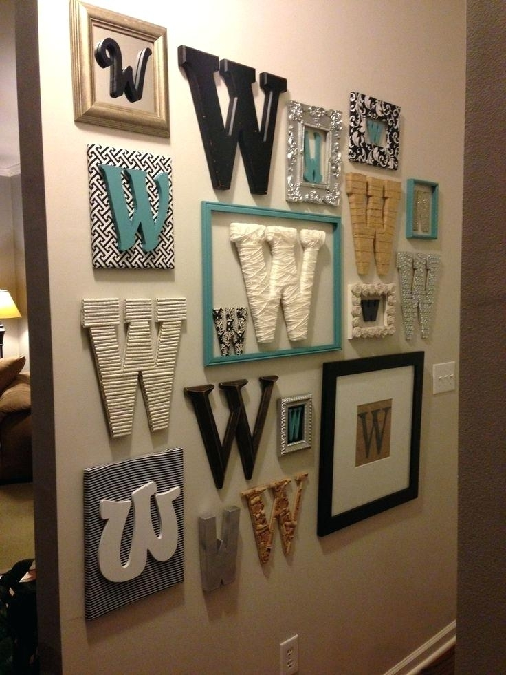 Featured Image of Letter Wall Art