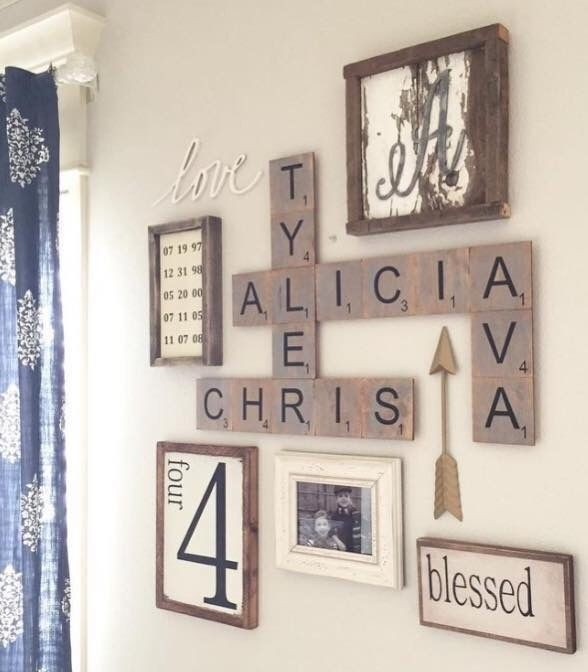 Letter Wall Art Elegant Letter Wall Art – Wall Decoration Ideas With Regard To Letter Wall Art (Image 16 of 25)