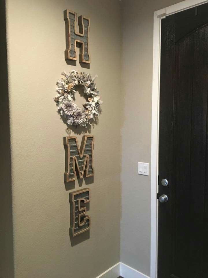Letters From Hobby Lobby | Crafty Me | Pinterest | Lobbies, House Within Hobby Lobby Wall Art (Image 14 of 20)
