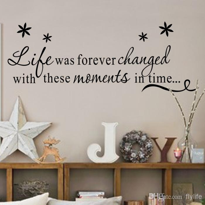 Life Was Forever Changed With These Moments In Time Inspirational For Inspirational Quotes Wall Art (View 2 of 25)