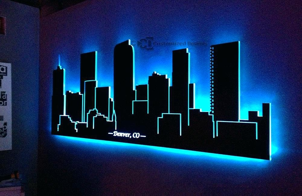 Light Up Wall Decor Led Light Wall Decor Led Wall Art Wall Art Intended For Light Up Wall Art (View 15 of 25)